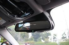 TEZZOデモカー アルファロメオ ジュリア・スポーツにTEZZO常時点灯カーボンルームミラーモニターfor アルファロメオ ジュリアを取り付けました