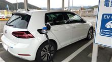 e-Golf、EV充電初体験