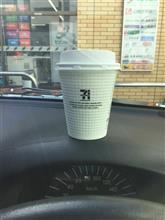 今日のコーヒー☕️@プロボックスで。 松江のセブンのコーヒだったさw