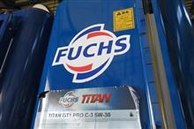 メンテナンスは大事...AUDI A3 エンジンオイル+エレメント交換 FUCHS