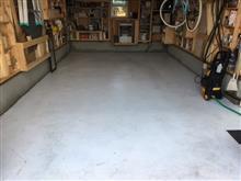 冬前のガレージ清掃