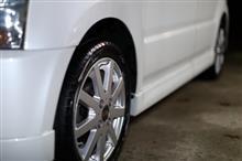 代車を洗車