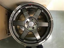 今日のホイール RAYS Volk Racing TE37SL(レイズ ボルクレーシング TE37SL) -スバル レガシィB4用-