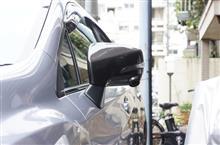 インプレッサスポーツ,G4/XV サイドビューモニター装備車両用ドライカーボン製ドアミラーカバー予約販売開始!