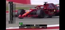 F1アメリカGP。