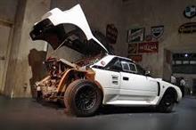 本日の貼り逃げ 幻のラリーカー トヨタ222D