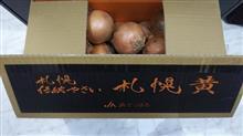 札幌から玉葱が届いた♪   #札幌黄  #玉葱