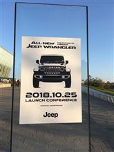 「新型ジープラングラー発表会イベント」に行ってきた。