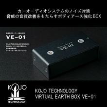 大好評のカーオーディオアクセサリー / 光城精工 KOJO TECHNOLOGY VE-01 車載用ボディアース強化BOX