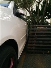ギリギリ駐車😂