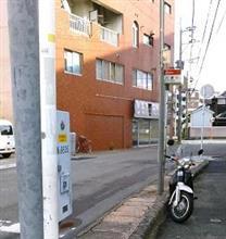 箱崎と馬出(まえだし)の路面電車跡地