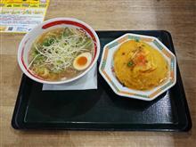 新名神土山SA 天津飯と豚そばセット1000円