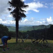 第15回目の椿ヶ鼻ヒルクライムは番外編 親子サイクリング