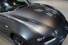 【動画あり】ライトスポーツカーの代名詞。マツダ・ロードスターRF のガラスコーティング【リボルト岡崎】