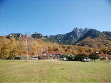瑞牆山キャンプ場へ行って来ました。