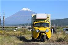 富士山のはしご・・・・