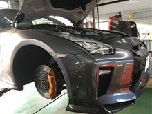 GTR ブレーキ交換など!!