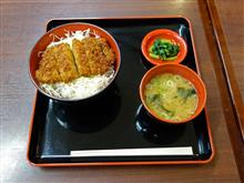 中央道上り駒ヶ岳SA 三元豚ソースカツ丼800円