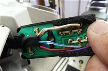 ウインカースイッチの配線修理・・・