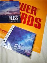 SANOVA 3rdアルバム「BLISS」..遂に出ました\(^o^)/