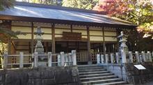 秩父御嶽神社(埼玉県飯能市坂石)の紅葉