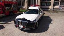 長野県警、パトロールカー 見学