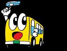 バスを運転してきました
