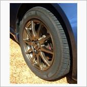 コルトプラスのタイヤに空気補充