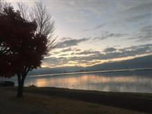 諏訪湖のあーさー
