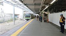 JR川崎駅東海道線ホーム拡張工事