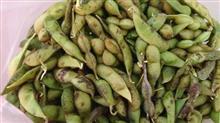 篠山にて黒枝豆をゲットしてきました。
