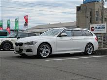 トータルアライメント調整...BMW F31 320d KONIアクティブ 更にホイルバランス