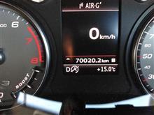 70,000km到達!!