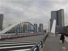 環状2号線(築地大橋)