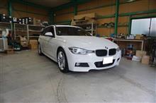 BMW F313シリーズツーリングのスピーカー取付
