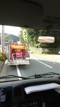 消防パレード(´・ω・`)