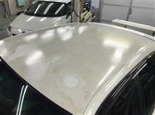 【トヨタ チェイサー 塗装劣化修理】 千葉県よりご来店のお客様です。