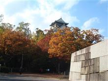 紅葉の大阪城(*^^)v