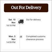 i-parcelの時間表示っ ...