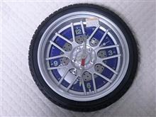 タイヤ型時計