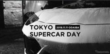 11/11 東京スーパーカーデイ 2018 in お台場 参加報告