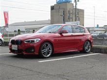 サスペンション交換..BMW F20 H&Rサスペンション交換 これで見た目も