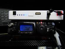 FT-817 モバイルバッテリー運用