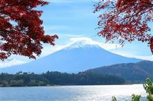 山梨Touring!河口湖周辺の紅葉SPOT(紅葉編)♪