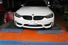 BMW F80 M3 コンペディションお預かり