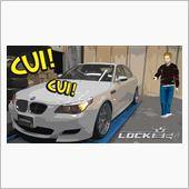 BMW M5(E60)にLO ...