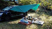 (京都府)山間でソロキャンプ