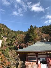 鳳来寺に紅葉🍁