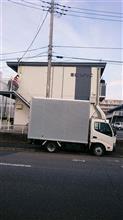 娘の引っ越しで2トンのトラックをレンタルしてつくばに行って来ましたよ♪
