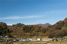 雪が積もる前に、信州中条村の虫倉山へ